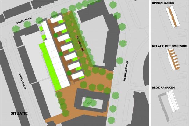 Intense laagbouw Groningen